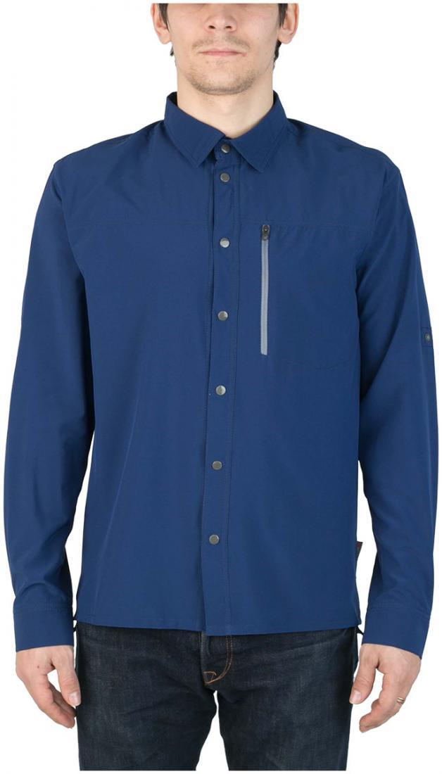Рубашка PanhandlerРубашки<br><br> Функциональная рубашка свободного кроя, выполненная из легкой быстросохнущей ткани. Комфортна дляпутешествий и треккинга.<br><br><br> Ос...<br><br>Цвет: Синий<br>Размер: 54