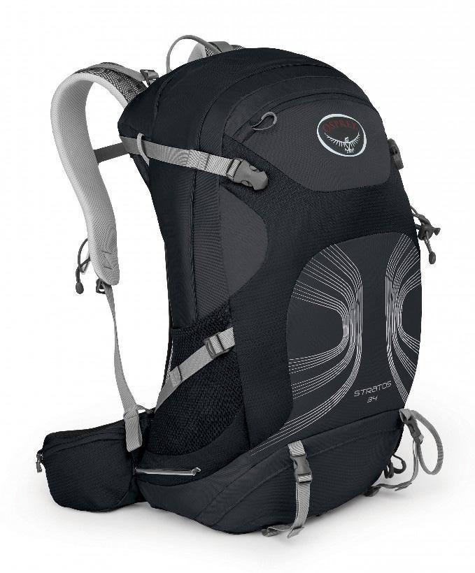 Рюкзак Stratos 34Рюкзаки<br><br><br>Цвет: Темно-серый<br>Размер: 34 л