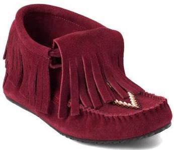 фото Мокасины Paddle Suede Moccasin женск