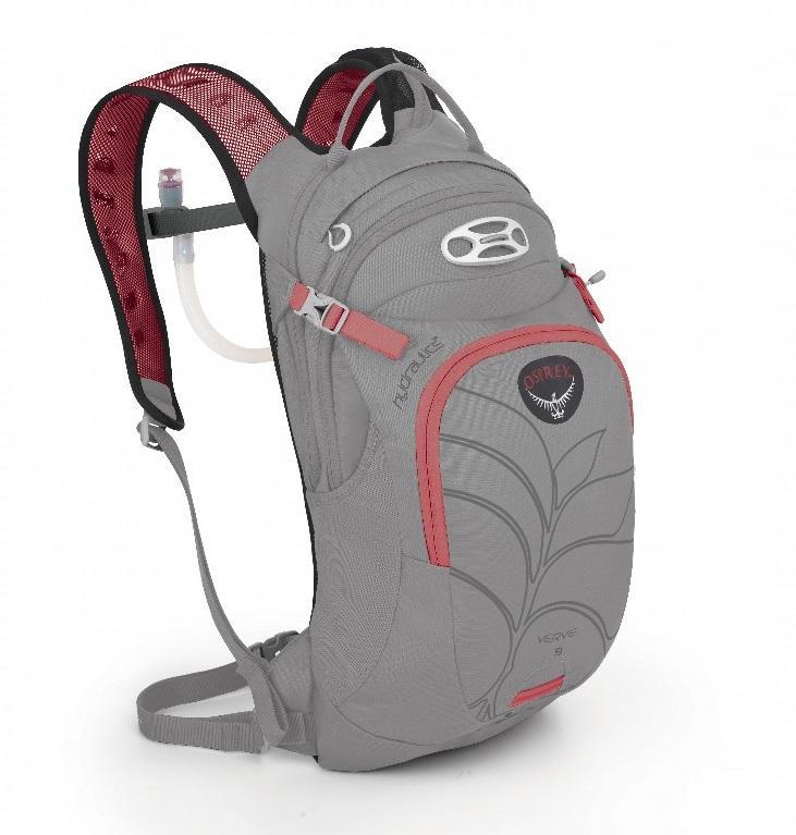 Рюкзак Verve 9Рюкзаки<br>Женский рюкзак Verve 9 имеет встроенный питьевую систему Hydraulics™ объемом 3 л. Асимметричная молния обеспечивает быстрый доступ к питьевой си...<br><br>Цвет: Серый<br>Размер: 9 л