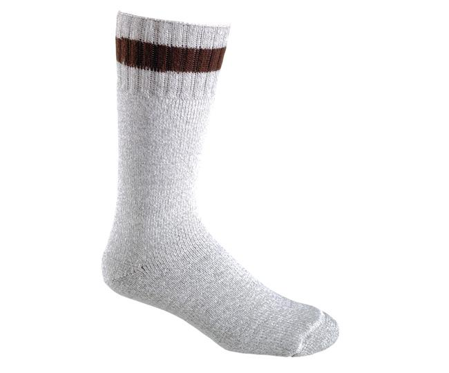 Носки турист. 2273 THERM-O-RAGGНоски<br><br> Идеально подходят для зимней рыбалки, охоты, туризма. Изготовленные из натуральной шерсти и волокна Hollofil® с суперизоляционными свойствами, эти носки сохраняют ноги в тепле и комфорте с утра до ночи.<br><br><br>Анатомическая верхняя часть...<br><br>Цвет: Белый<br>Размер: L