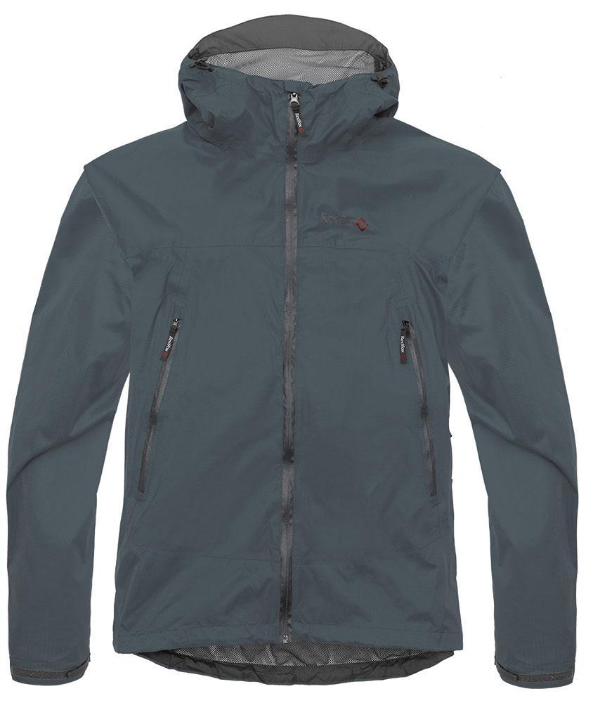 Куртка ветрозащитная Long Trek МужскаяКуртки<br><br>Надежная, легкая штормовая куртка; защитит от дождя и ветра во время треккинга или путешествий; простая конструкция модели удобна и для жизни в городе в дождливую погоду. Подкладка из легкой сетки придает дополнительный комфорт: куртку можно надевать...<br><br>Цвет: Темно-серый<br>Размер: 58
