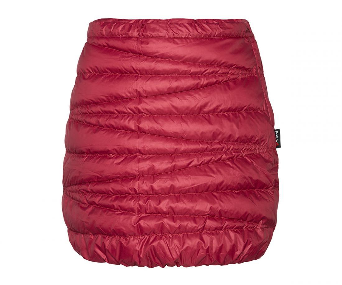 Юбка пуховая Kelly ЖенскаяЮбки<br><br> Пуховая юбка лаконичного дизайна для дополнительного утепления. Можно носить, как самостоятельныйэлемент гардероба или поверх любой...<br><br>Цвет: Красный<br>Размер: 44
