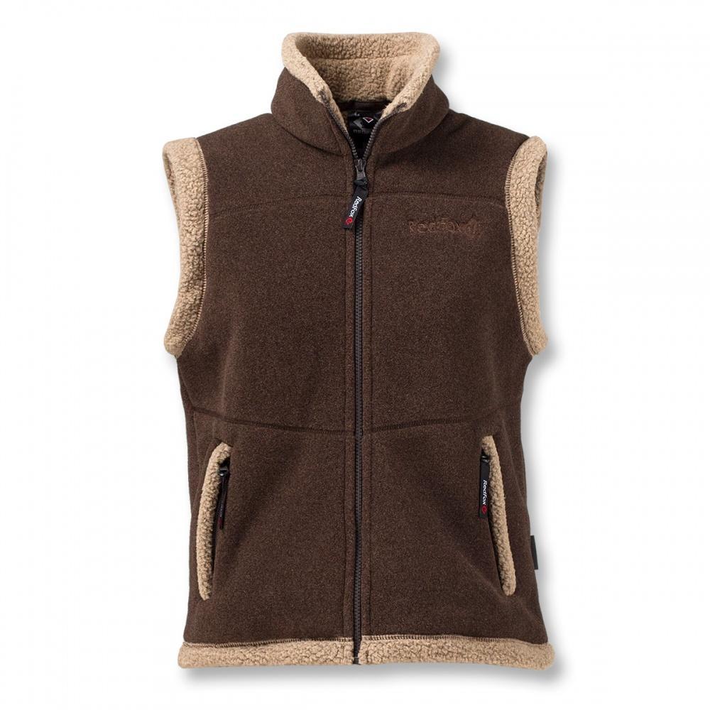 Жилет LhasaЖилеты<br><br> Очень теплый жилет из материала Polartec® 300, выполненный в стилистике куртки Cliff.<br><br><br> Основные характеристики<br><br><br><br><br>воротник – стойка<br>два боковых кармана на молних<br>декоративна отделка&lt;/li...<br><br>Цвет: Коричневый<br>Размер: 44