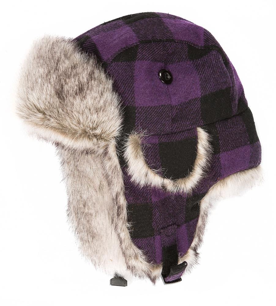 Шапка-ушанка Helmet ДетскаяУшанки<br>Теплая и уютная вязанная шапочка с ушками. Подкладка из искусственного меха исключительно сохраняет тепло и защищает от переохлаждения.<br><br>Материал – Acrylic.<br>Подкладка – искусственный мех.<br>Размерный ряд – 48-50, 52-54.&lt;...<br><br>Цвет: Фиолетовый<br>Размер: 48-50
