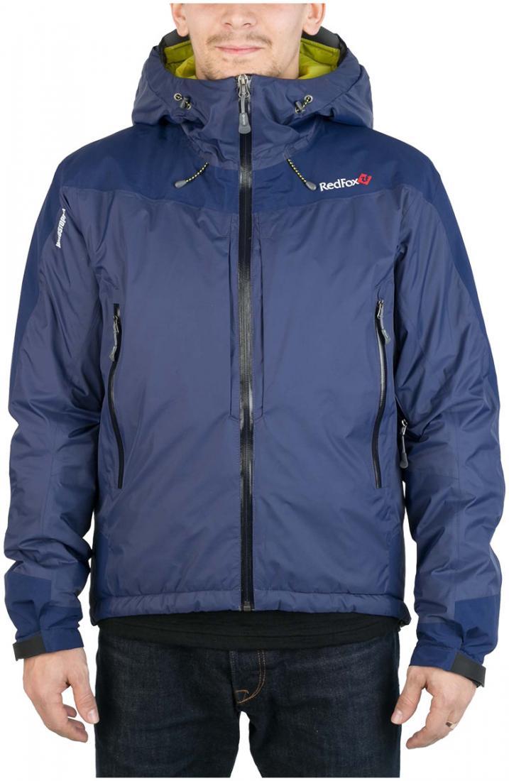 Куртка утепленная Wind Loft II МужскаяКуртки<br><br><br>Цвет: Темно-синий<br>Размер: 56