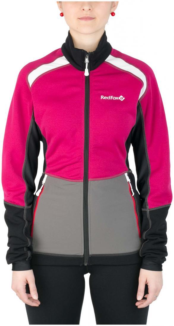 Куртка St.Line ЖенскаяКуртки<br><br> Легкая спортивная куртка на молнии из материалаPolartec® Power Stretch® Pro.Можно использовать в качестве промежуточного или<br> верхнего утепляющего слоя.<br><br><br> Основные характеристики:<br><br><br>анатомическая приталенная ...<br><br>Цвет: Розовый<br>Размер: 42