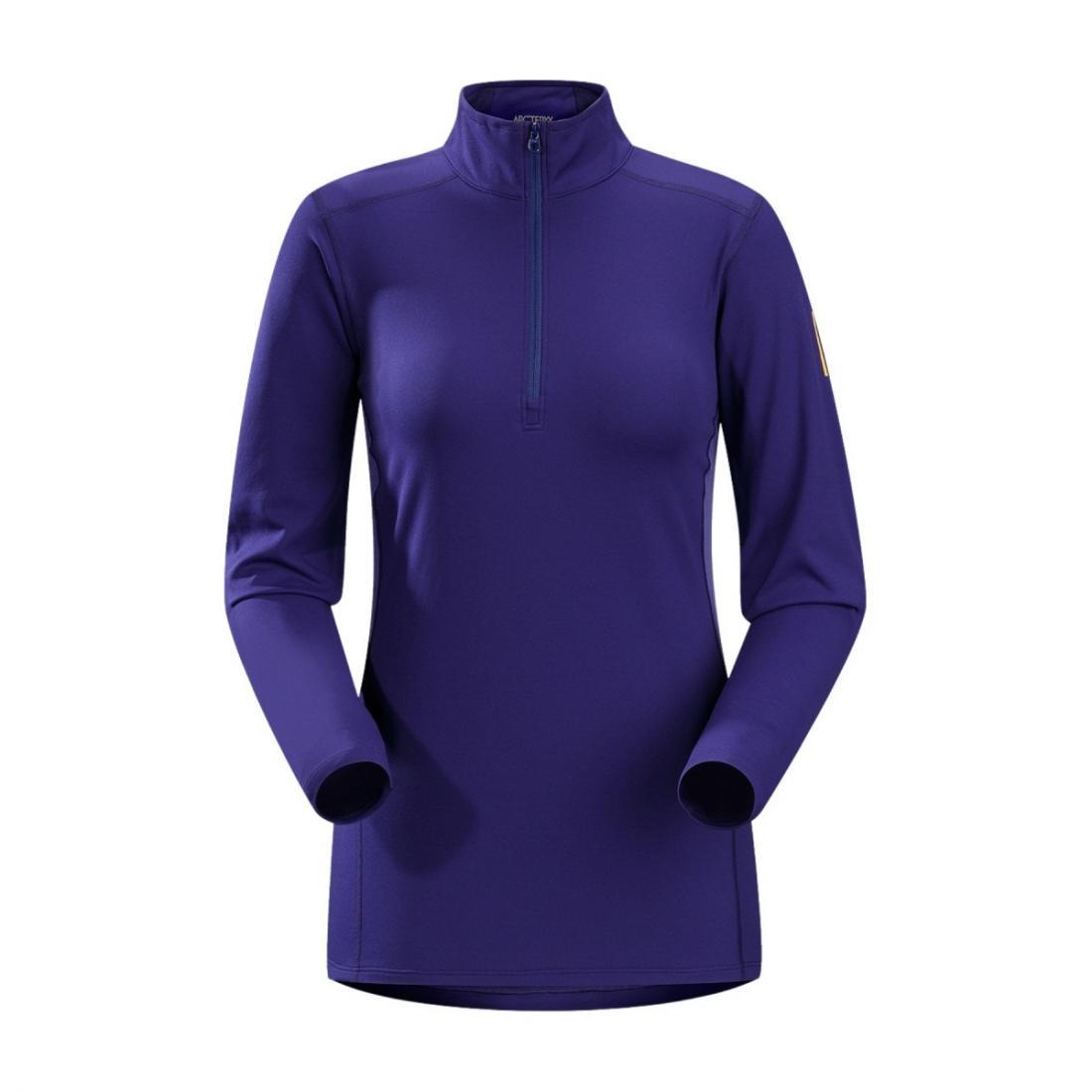 Термобелье футболка Phase AR Zip Neck жен. длин.рукавФутболки<br><br> Футболка-термобелье с длинными рукавами Arcteryx Phase AR для женщин используется в качестве дополнительного утепляющего слоя в морозную погоду. Оно отлично сохраняет тепло, отводит лишнюю влагу с поверхности кожи и дарит комфорт благодаря анатомич...<br><br>Цвет: Синий<br>Размер: L