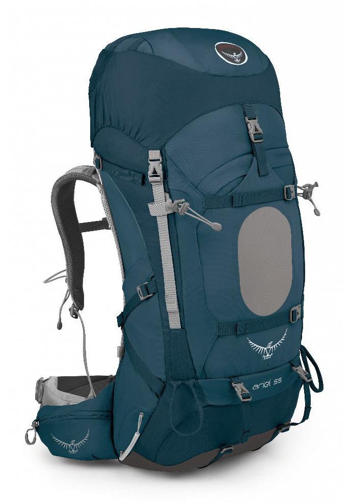 Рюкзак Ariel 55 WomensТуристические, треккинговые<br><br> Как говорится, долгое путешествие требует более спланированной подготовки. Куда вы отправитесь? Как доберетесь до пункта назначения? К...<br><br>Цвет: Синий<br>Размер: 52 л