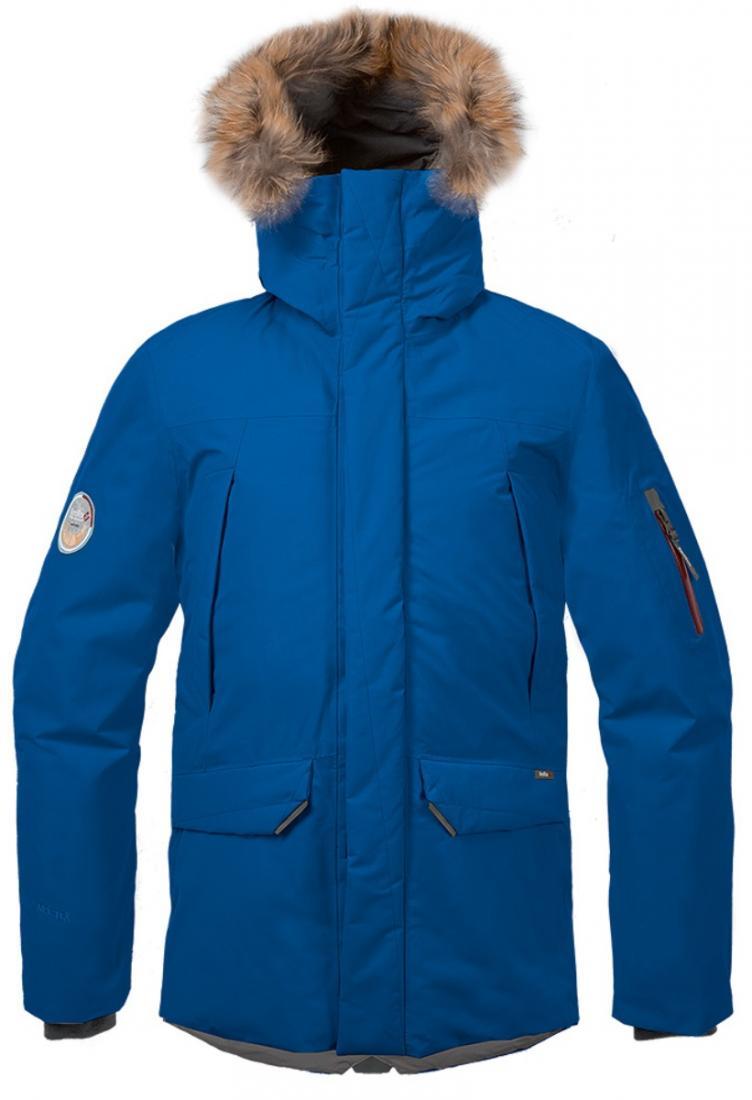 Куртка пуховая Kodiak II GTX МужскаяКуртки<br><br>Kodiak II GTX - пуховая непромокаемая парка из материала GORE-TEX®, рассчитанная на использование в условиях низких температур. Универсальная, оч...<br><br>Цвет: Синий<br>Размер: 52