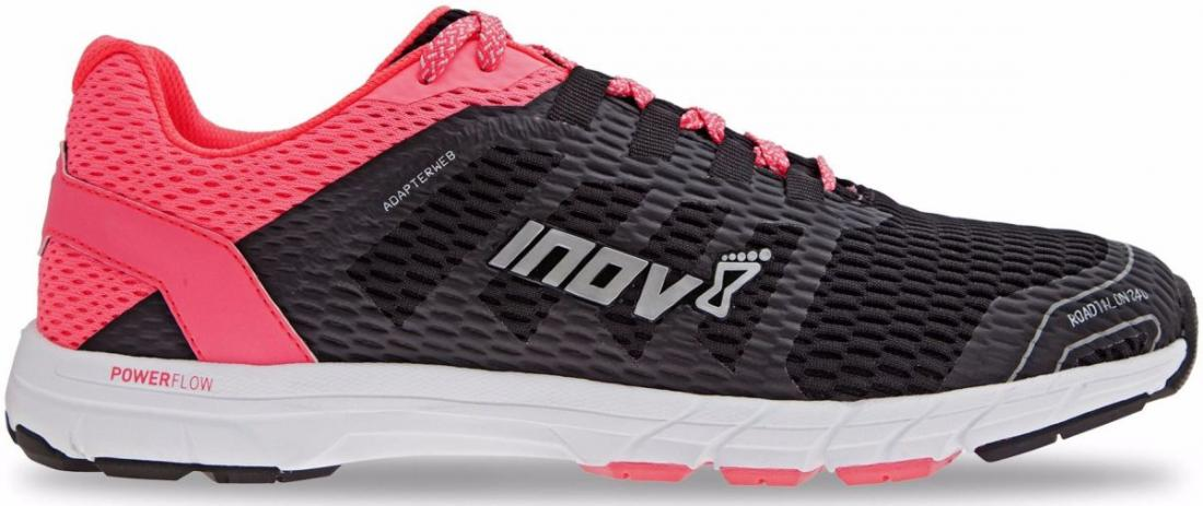 Inov-8 Кроссовки RoadTalon 240 жен. (4.5, Black/Pink/White, , ,) inov 8 футболка at c tri blend ss strip w 6 black pink