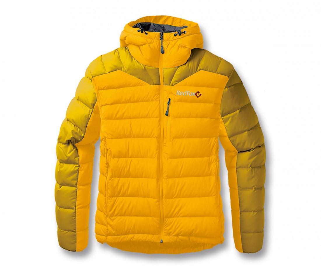 Куртка пуховая Flight liteКуртки<br><br><br>Цвет: Желтый<br>Размер: 56