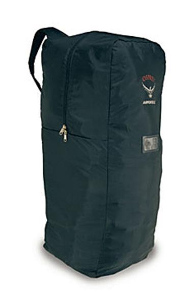 Сумка AirporterСумки<br>Чехол Osprey Airporter надежно защитит ваш рюкзак или сумку при транспортировке. Теперь во время проверки багажа в аэропорту вам не нужно беспокоиться о недоброжелательном обращении с ним. Кроме того, изготовленный из водонепроницаемого материала с про...<br><br>Цвет: Черный<br>Размер: L