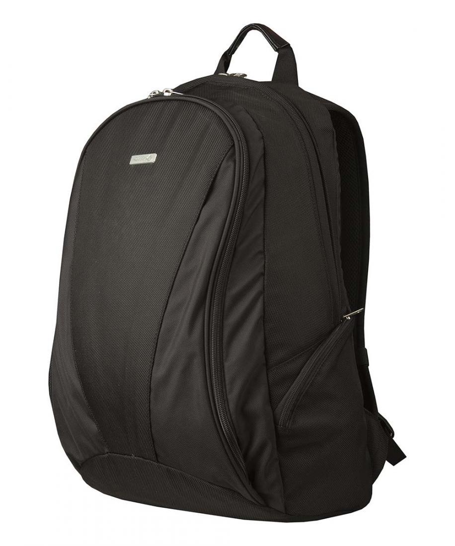 Рюкзак Daily 2Рюкзаки<br><br>Daily 2 – стильный городской рюкзак среднего объема для деловых поездок.<br><br><br>назначение: повседневное городское использование<br>два независимых отделения на молнии<br>отделение для ноутбука с размером экрана 15''<br>&lt;li...<br><br>Цвет: Черный<br>Размер: 30 л