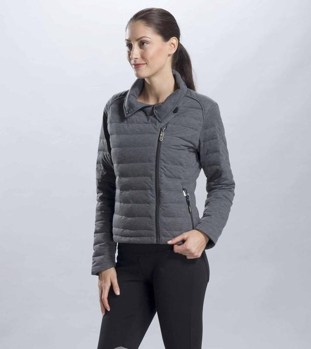 Куртка LUW0176 CELINE JACKETКуртки<br><br><br>Цвет: Темно-серый<br>Размер: XL