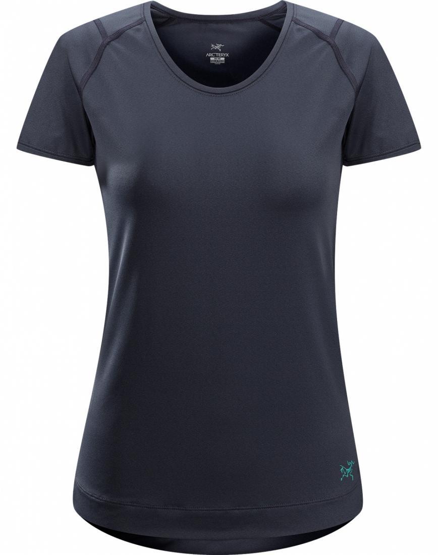 Футболка Mentum Tee SS жен.Футболки, поло<br>ДИЗАЙН: Простая, легкая и удобная футболка в повседневном стиле   однотонная с окантовкой, из отлично тянущейся ткани. <br> <br>НАЗНАЧЕНИЕ: Х...<br><br>Цвет: Синий<br>Размер: L