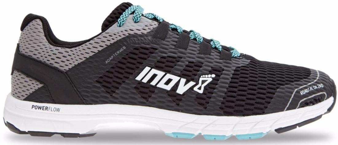 Inov-8 Кроссовки RoadTalon 240 муж. (6.5, Black/Grey/Blue, , ,) inov 8 брюки at c tight w l black