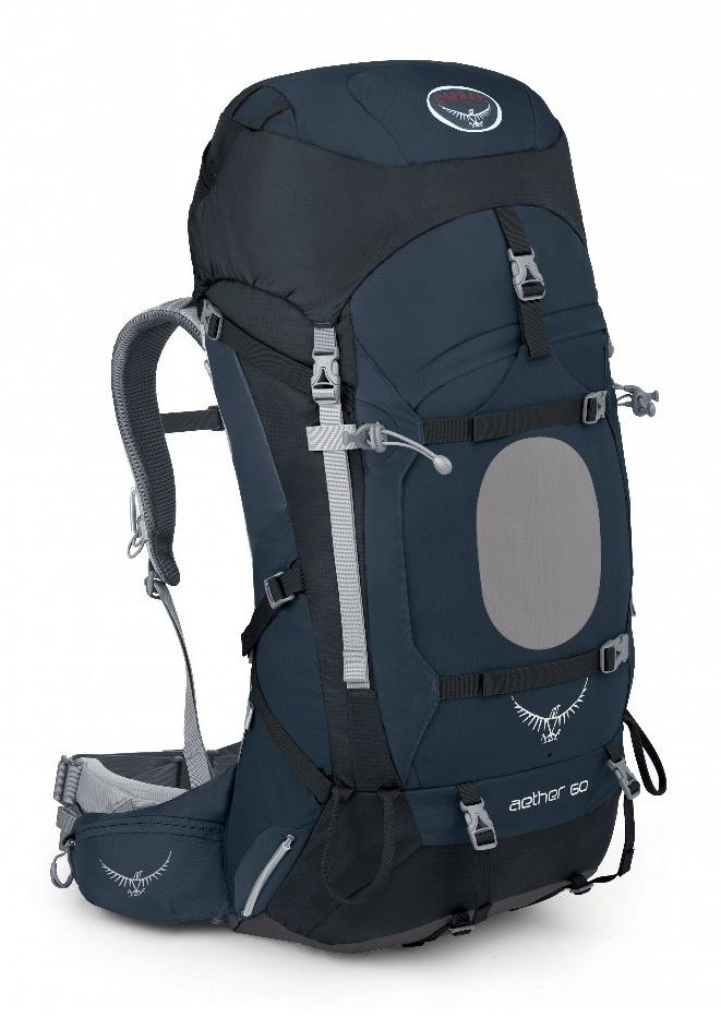 Osprey Рюкзак Aether 60 (L, Midnight Blue, ,)