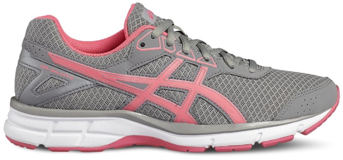 Кроссовки GEL-GALAXY 9 жен.Бег, Мультиспорт<br>В кроссовках GEL-GALAXY 9 GS ноги ваши ноги будут чувствовать себя так же отлично, как и вы сами. В повседневной жизни, в спортивном зале или на прогулке в парке кроссовки будут стильно (мы бы даже сказали, «круто») выглядеть и подарят вам непревзойден...<br><br>Цвет: Серый<br>Размер: 8