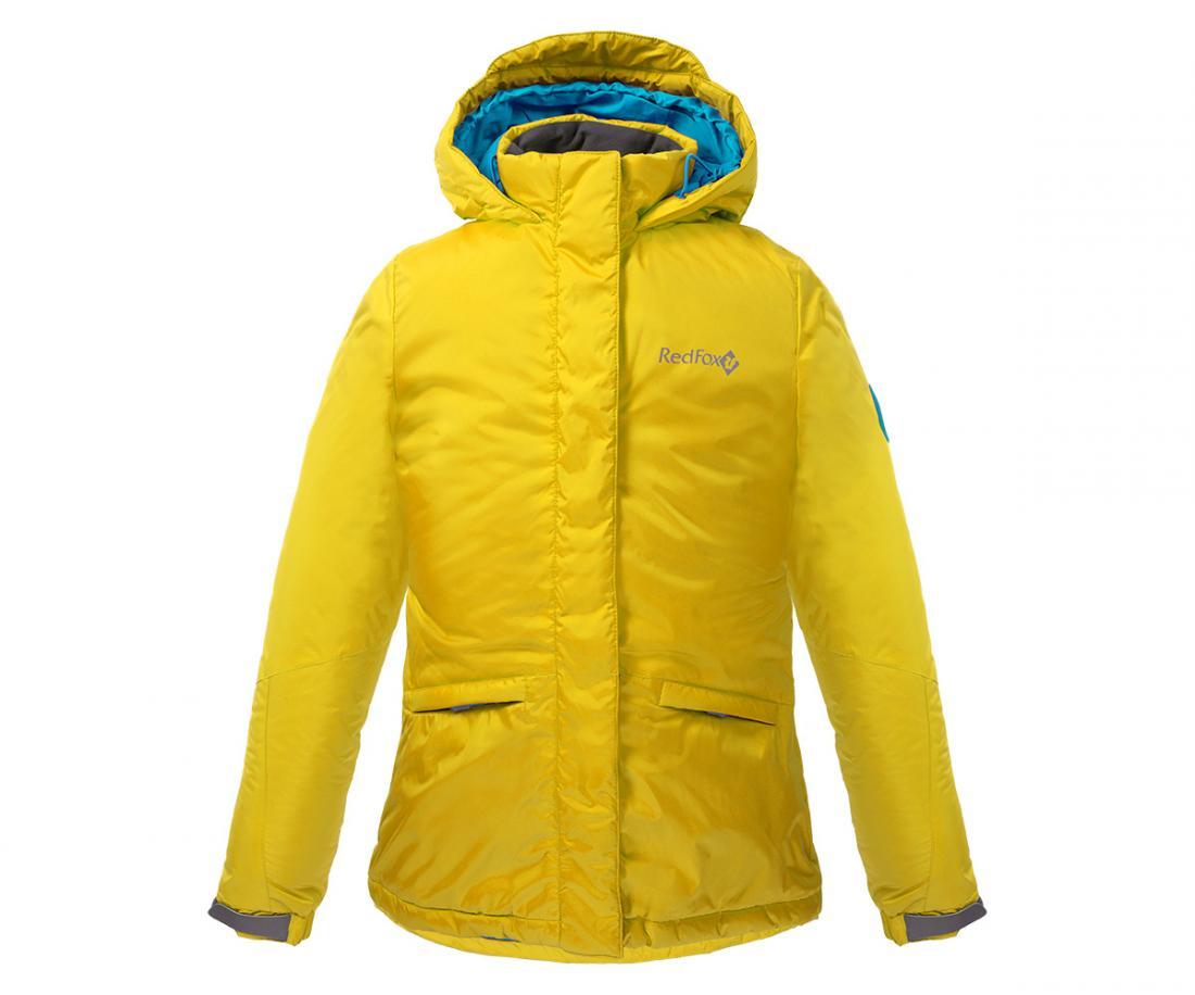 Куртка утепленная Snowy Fox ДетскаяКуртки<br><br> Практичная и стильная куртка для девочек с приталенным силуэтом, которая не позволит замерзнуть и промокнуть в холодную погоду.<br><br> ...<br><br>Цвет: Желтый<br>Размер: 152
