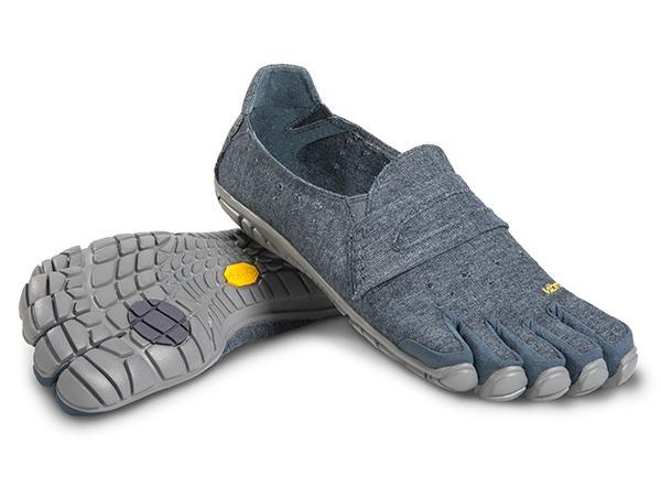 Мокасины FIVEFINGERS CVT-Hemp MVibram FiveFingers<br><br>Эта дышащая минималистичная модель без шнуровки обеспечивает устойчивую посадку и ощущение по-настоящему босоногой ходьбы. Изготовлена из смеси пеньки и полиэстера. Эта износостойкая и комфортная обувь подходит для повседневной носки.<br><br><br>&lt;...<br><br>Цвет: Синий<br>Размер: 40
