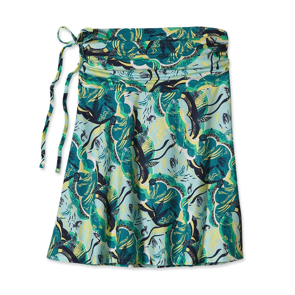 Юбка 58651 WS LITHIA SKIRTЮбки<br>Универсальная летняя юбка LITHIA SKIRT, которая прекрасно подходит как для работы, так и для похода на пляж, помогает создать романтичный или спо...<br><br>Цвет: Зеленый<br>Размер: XS
