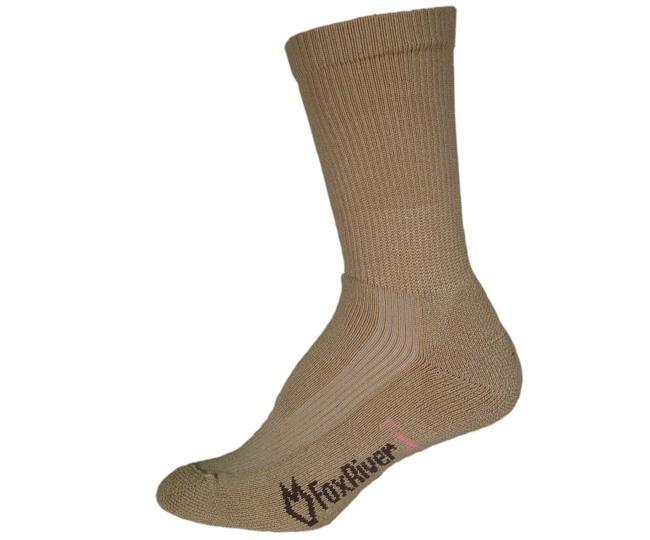 Носки атлет.жен.1578 WICK DRY CREW WALKERНоски<br>В атлетических женских носках FoxRiver Wick Dry Crew Walker мозоли не страшны. Эта удлиненная модель позволяет тренироваться или долго гулять, не испы...<br><br>Цвет: Хаки<br>Размер: L