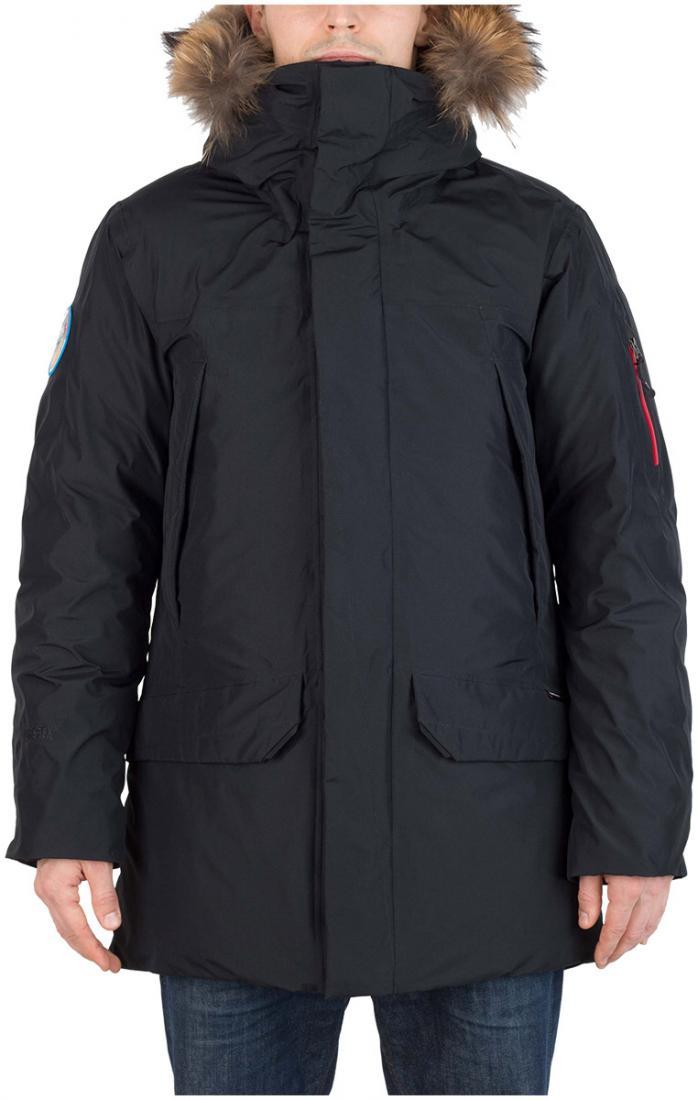 Куртка пуховая Kodiak II GTX МужскаяКуртки<br><br> Пуховая непромокаемая парка из материала GORETEX®, рассчитанная на использование в условиях низких температур.<br><br><br> <br><br><br>Материал: GORE-TEX® Products, 100% Nylon, plain weave, 70D, 148 g/sqm, 2L lamination<br>Утепл...<br><br>Цвет: Черный<br>Размер: 50