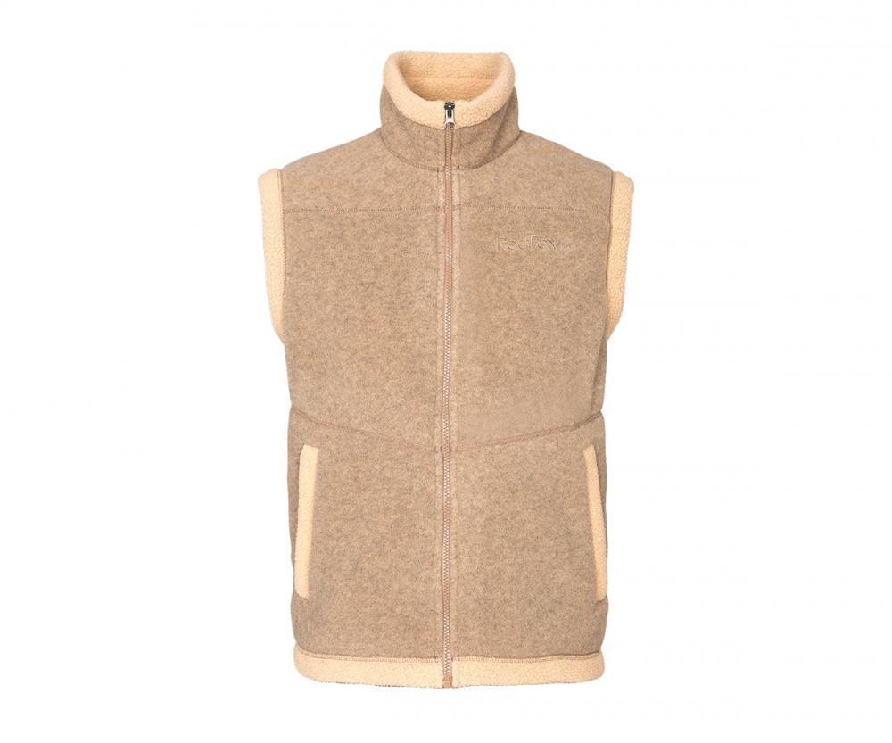 Жилет Lhasa IIЖилеты<br>Очень теплый жилет из материала Polartec® Classic 300, выполненный в стилистике куртки Cliff.<br><br>основное назначение: загородный отдых<br>воротник – стойка<br>два боковых кармана на молниях<br>декоративная отделка&lt;/...<br><br>Цвет: Бежевый<br>Размер: 42