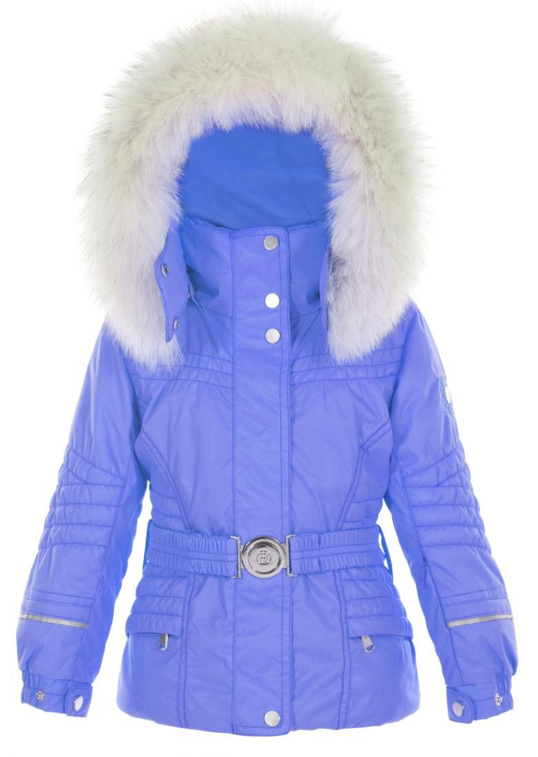 Куртка с иск.мехом W16-1000-JRGL/A дет.Куртки<br><br><br>Цвет: Фиолетовый<br>Размер: 16A