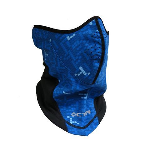 Маска GLACIER PROTECTORМаски<br>Надежная маска для защиты лица от ветра и осадков. Выполнена из функциональный материал Soft Shell, который надежен снаружи и создает оптимальный уровень температуры тела внутри - не беспокойтесь об обморожении лица! <br><br>в конструкции маски...<br><br>Цвет: Голубой<br>Размер: S/M