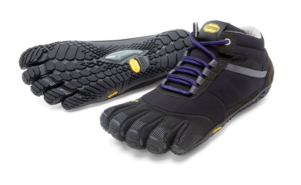 Мокасины FIVEFINGERS Trek Ascent Insulated WVibram FiveFingers<br><br><br>Цвет: Черный<br>Размер: 41