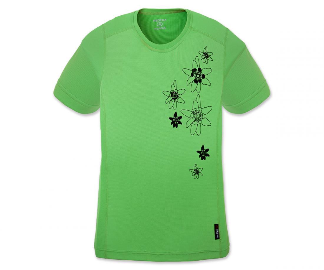 Футболка Flower TФутболки, поло<br><br>Материал – Quick Dry Polyester, UV-CUT, Odor resistant.<br>Размерный ряд – 42-52.<br><br><br>Цвет: Зеленый<br>Размер: 42