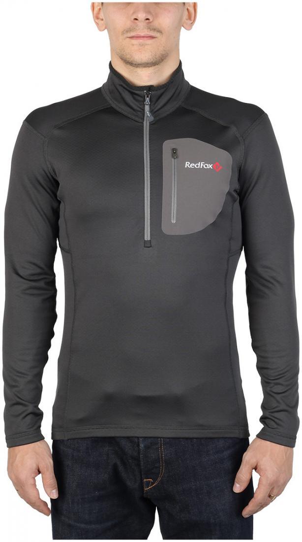 Пуловер Z-Dry МужскойПуловеры<br>Спортивный пуловер, выполненный из эластичного материала с высокими влагоотводящими характеристиками. Идеален в качестве зимнего термобелья или среднего утепляющего слоя.<br> <br><br>Материал: 94% Polyester, 6% Spandex, 290g/sqm.<br> <br>...<br><br>Цвет: Серый<br>Размер: 56