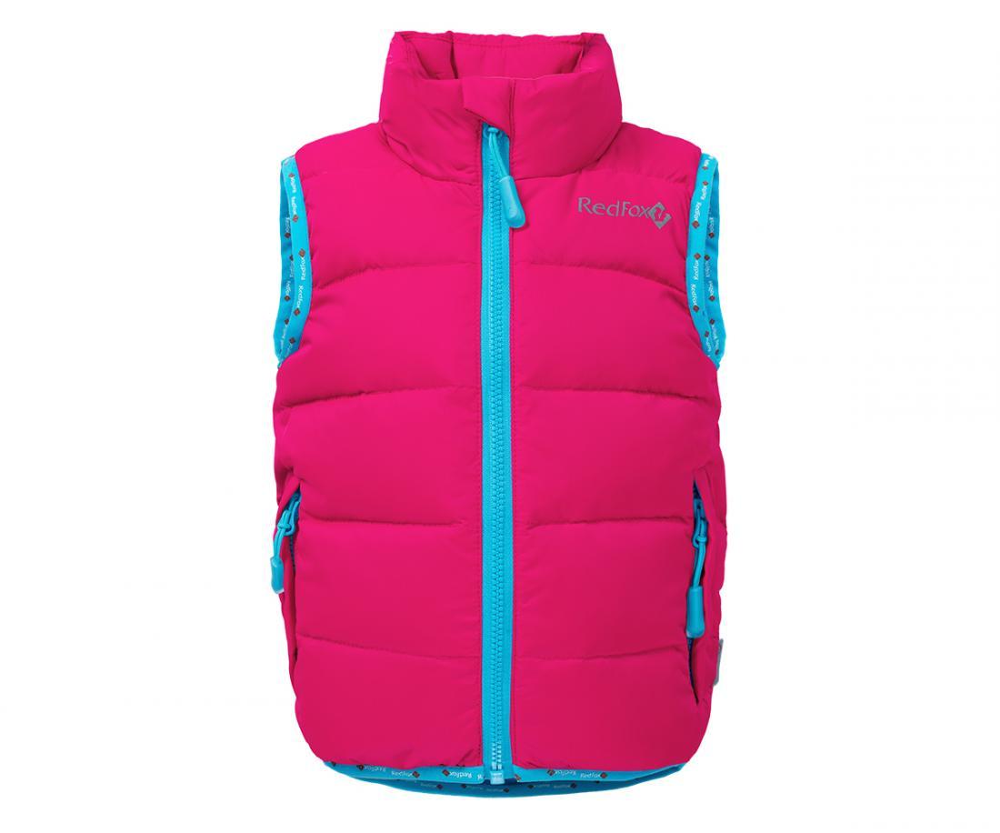 Жилет пуховый Everest BabyЖилеты<br>Легендарный пуховый жилет Red Fox. Все такой же теплый, легкий и комфортный. Но теперь и для детей от 2 до 7 лет.<br> <br><br><br><br> Материал – Nylon...<br><br>Цвет: Розовый<br>Размер: 104