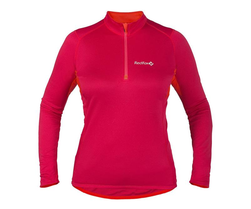 Red Fox Футболка Trail T LS Женская (48, 5400/алоэ, , , W 17-18) перчатки perstgloves перчатки