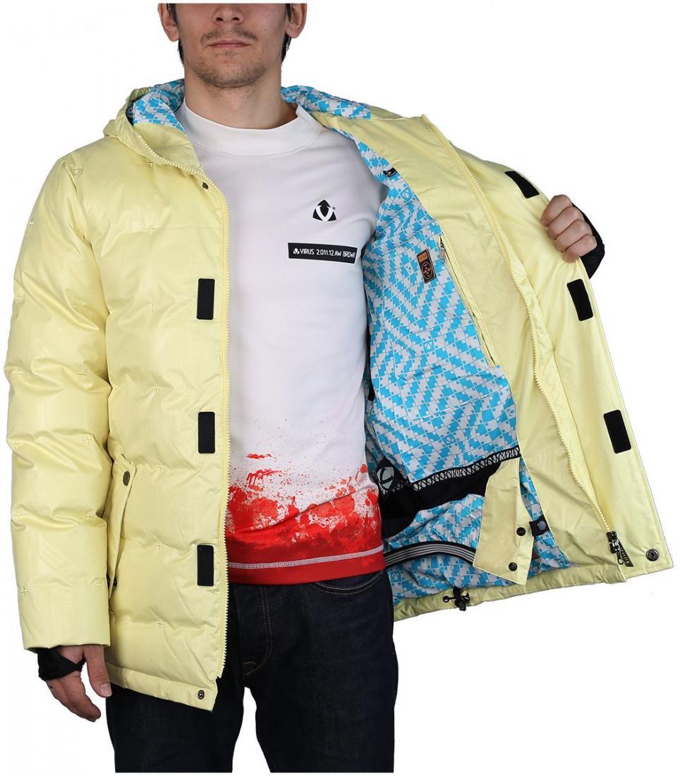 Куртка East Wind II ЖенскаяОдежда<br>Теплая мужская куртка из материала Polartec® Wind Pro® с технологией Hardface®для занятий мультиспортом в прохладную и ветреную погоду. Благодаря своим высоким теплоизолируюшим показателям и высокой паропроницаемости, куртка может быть использована<br>...<br><br>Цвет (гамма): Янтарный<br>Размер: 46