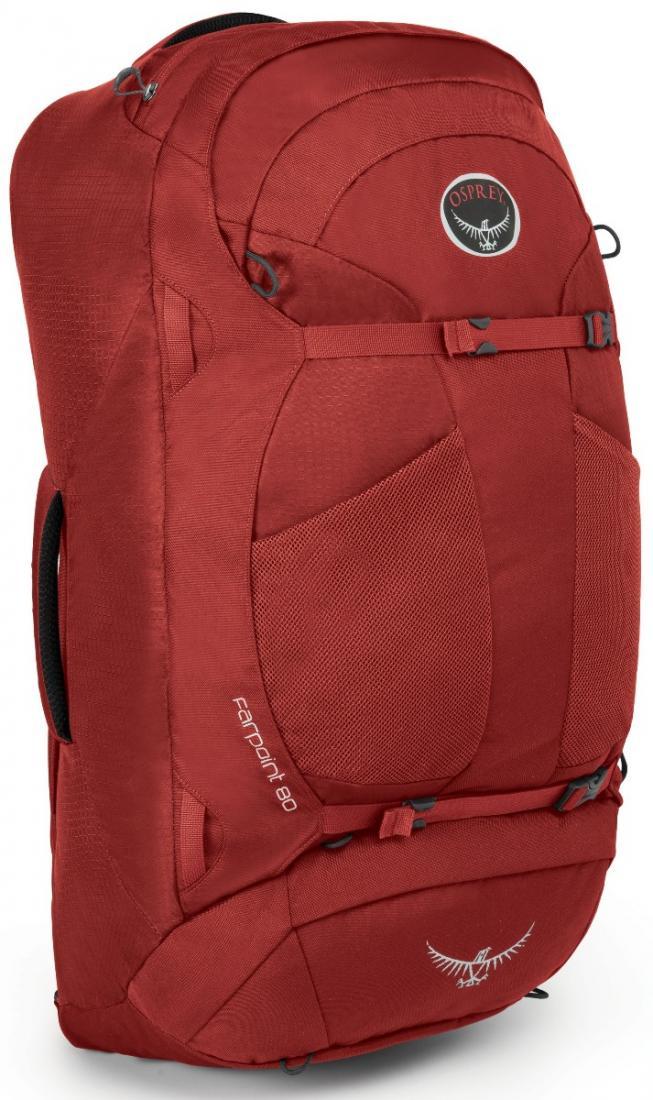 Сумка Farpoint 80Сумки-рюкзаки<br>Встречайте Farpoint 80 - легкий и универсальный рюкзак для путешествий, который даст вам больше пространства для хранения дополнительных предметов первой необходимости. Лямка и набедренный пояс прячутся в специальное отделение на молнии и вот - Farpoin...<br><br>Цвет: Голубой<br>Размер: 77 л