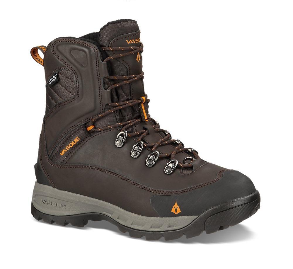 Ботинки 7802 Snowburban UDТреккинговые<br>Ботинки, разработанные для использования в условиях холодных температур, но обладающие техничной посадкой и чувствительностью альпинистских туристических ботинок. Утепление стало в два раза больше, добавлена флисовая подкладка на голенище и обновлена п...<br><br>Цвет: Коричневый<br>Размер: 11