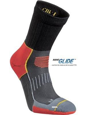 Носки Running Mid TrailНоски<br><br>Состав: 78% полиамид, 20% Nano Glide, 2% Lycra®<br>Размерный ряд: 34-36, 37-39, 40-42, 43-45, 46-48<br><br><br>Цвет: Красный<br>Размер: 43-45