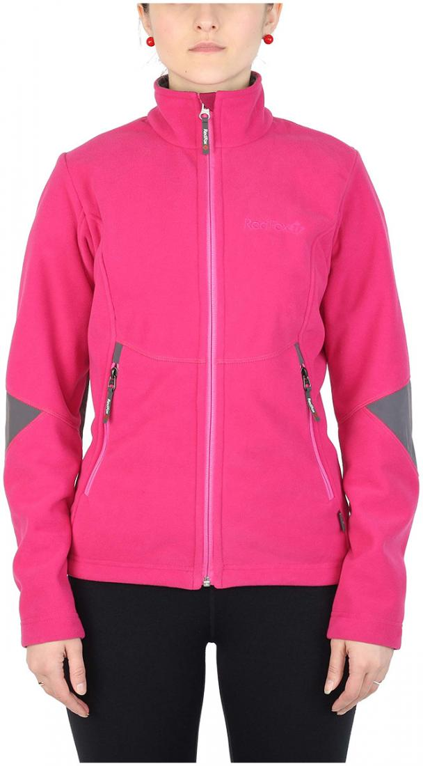 Куртка Defender III ЖенскаяКуртки<br><br> Стильная и надежна куртка для защиты от холода и ветра при занятиях спортом, активном отдыхе и любых видах путешествий. Обеспечивает свободу движений, тепло и комфорт, может использоваться в качестве наружного слоя в холодную и ветреную погоду.<br>&lt;/...<br><br>Цвет: Розовый<br>Размер: 42