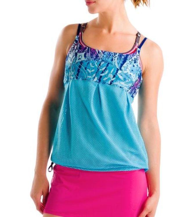 Топ LSW0927 LOZERE TANK TOPФутболки, поло<br><br> Lozere Tank Top LSW0927 – женская майка с оптимистичным дизайном от бренда Lole, которая может пригодится как в зале для йоги, так и на танцполе. Она ...<br><br>Цвет: Синий<br>Размер: S