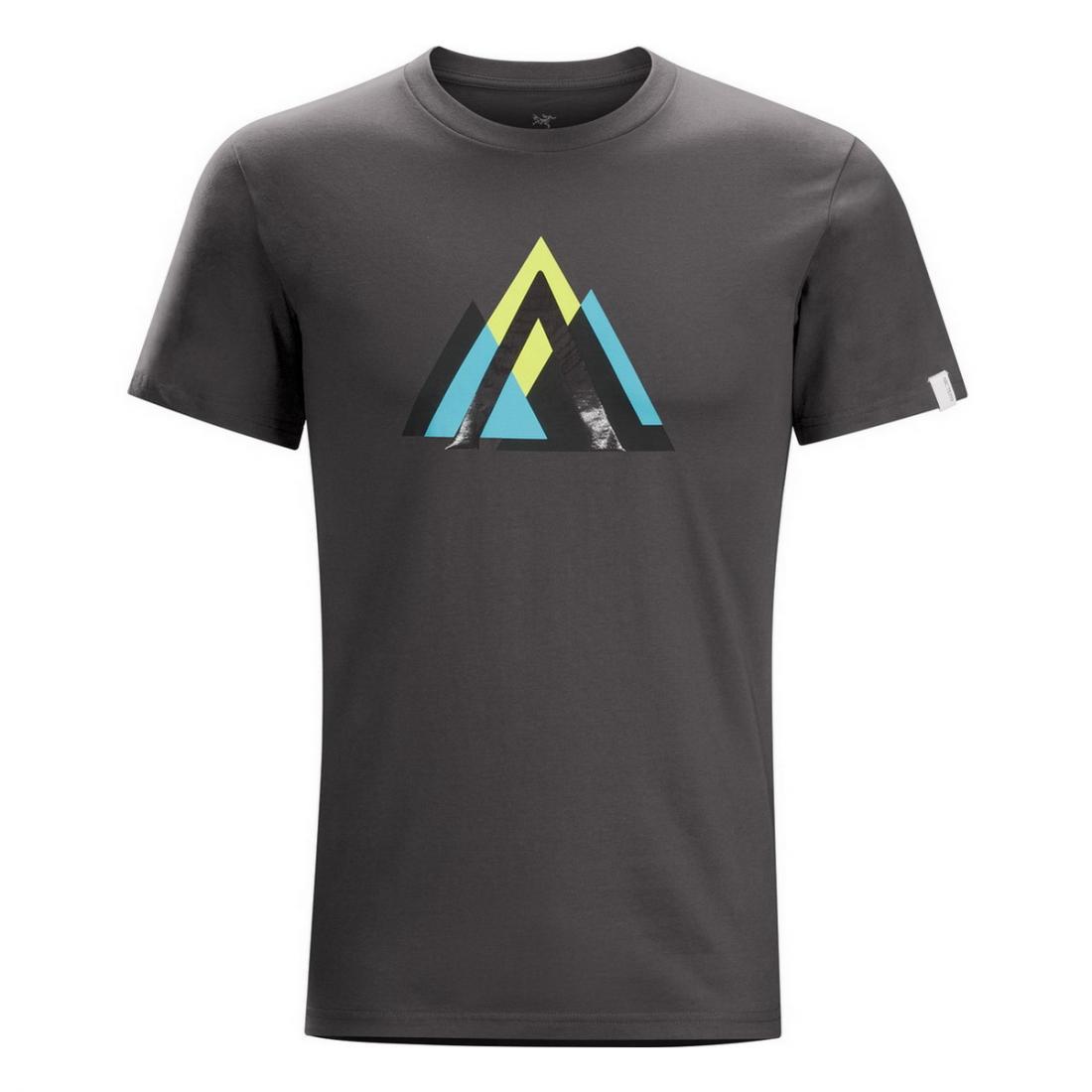 Футболка Arc Mountain SS T-Shirt муж.Футболки, поло<br><br><br>Цвет: Темно-серый<br>Размер: L