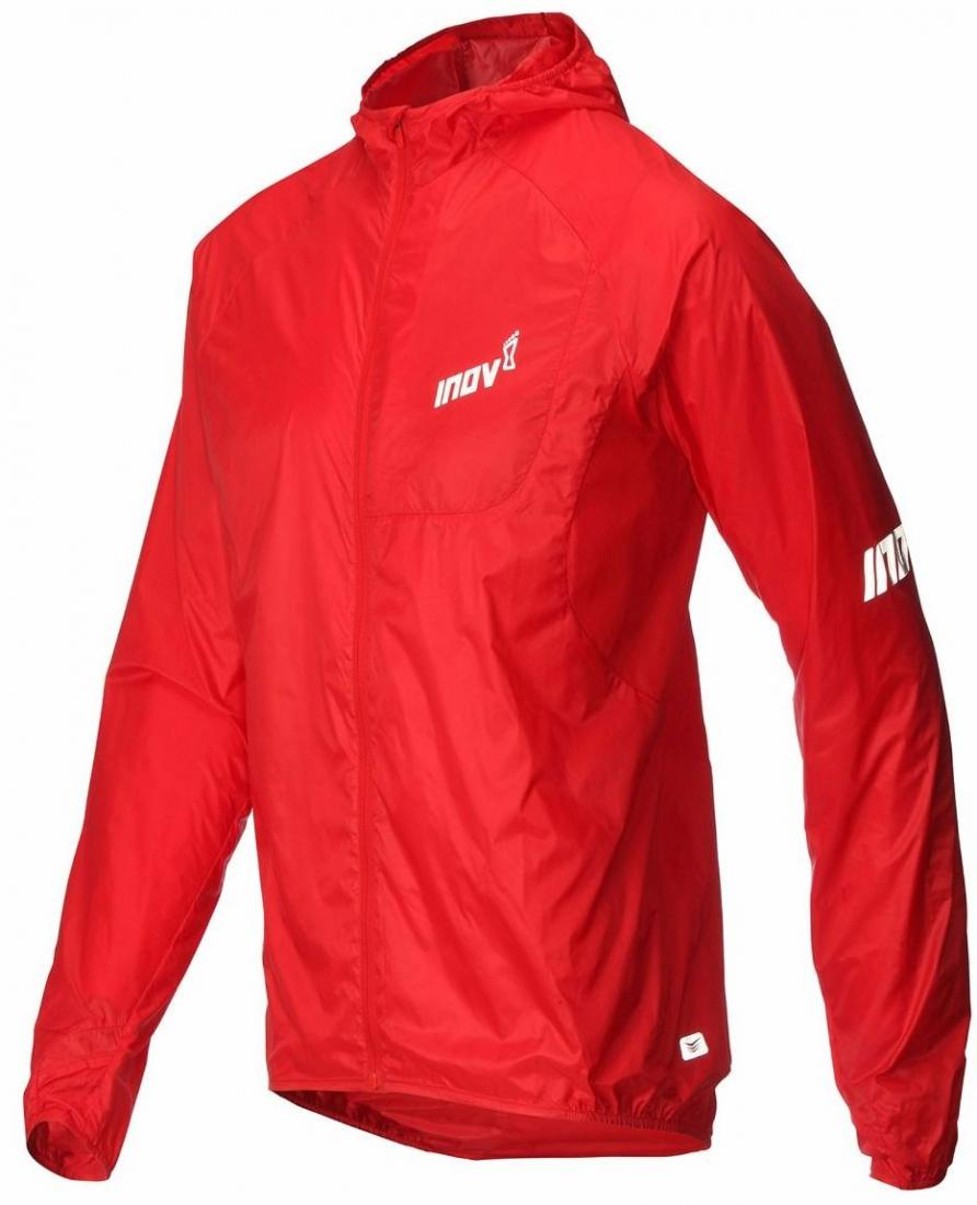 Inov-8 Куртка AT/C Windshell FZ M (XL, RED, , ,) inov 8 футболка at c tri blend ss strip w 6 black pink