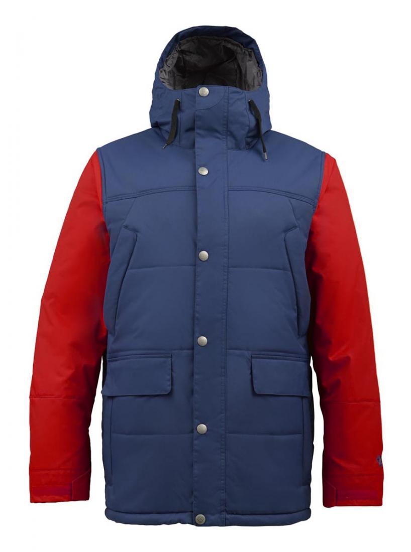 Куртка M TWC SHACKLETON JKКуртки<br>Мужская куртка Burton TWC Shackleton — это по-настоящему теплый вариант для самых суровых условий. Классический крой и функциональность делают эту модель универсальным вариантом и для путешествий, и для занятий спортом, и для повседневной жизни.<br> &lt;br...<br><br>Цвет: Синий<br>Размер: L