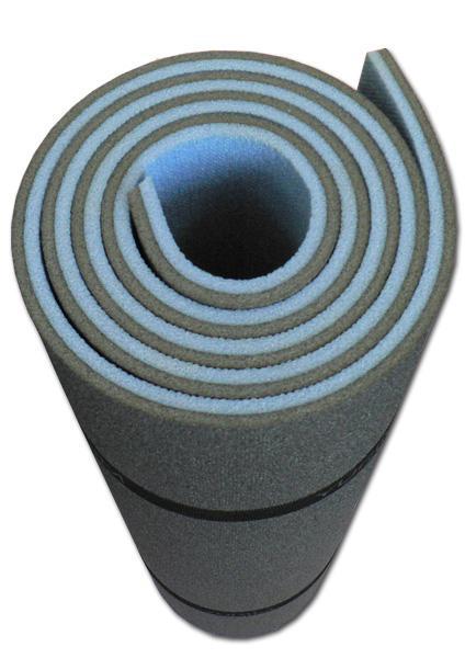 Коврик 7122D рулон.двухслойный 1800х600х12ммТуристические<br><br><br>Цвет: Черный<br>Размер: None