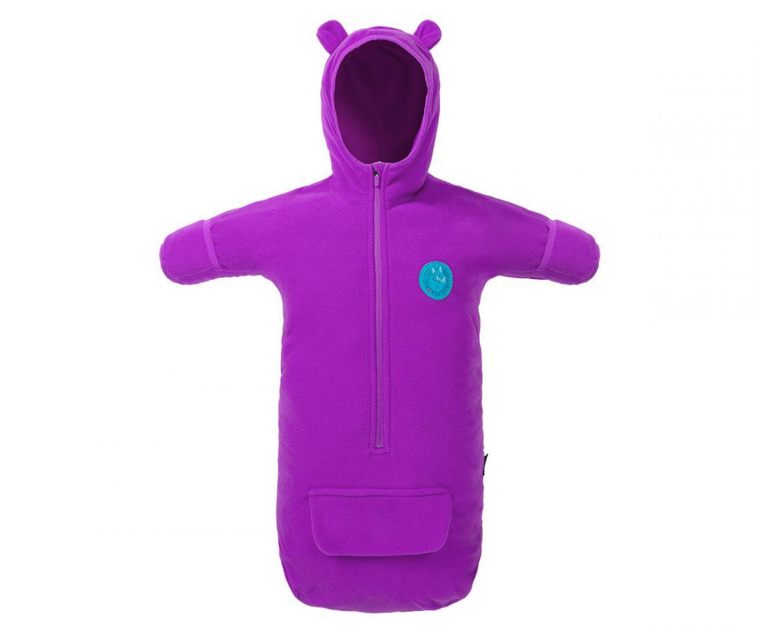Конверт Teddy Bear ДетскийКонверты<br>Флисовый конверт с капюшоном и рукавами для детей от 0 до 6 месяцев.<br> <br><br>Материал – Polar Fleece.<br> <br>Длинная центральная молния.<br>...<br><br>Цвет: Фиолетовый<br>Размер: S(0-6м)