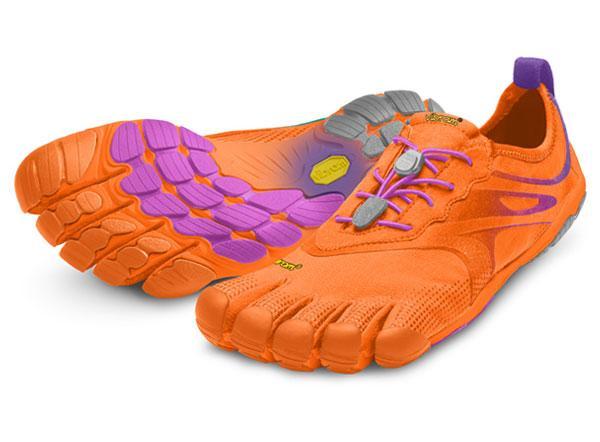 Мокасины Vibram  FIVEFINGERS BIKILA EVO WVibram FiveFingers<br><br><br>Цвет: Оранжевый<br>Размер: 37