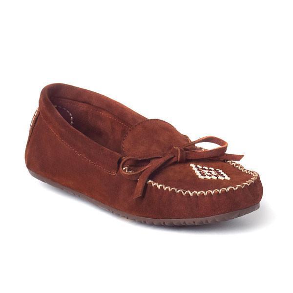 Мокасины Canoe Suede женскМокасины<br><br> Удобные замшевые мокасины Canoe Suede от канадского бренда Manitobah выполнены в традиционном дизайне, характерном для североамериканских инде...<br><br>Цвет: Темно-оранжевый<br>Размер: 5
