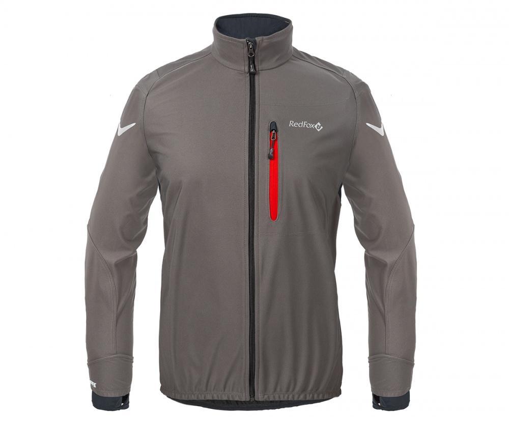 Куртка Active Shell МужскаяКуртки<br><br> Cпортивная куртка для высокоактивных видов спорта в холодную и ветреную погоду. Предназначена для использования на беговых тренировка...<br><br>Цвет: Темно-серый<br>Размер: 50